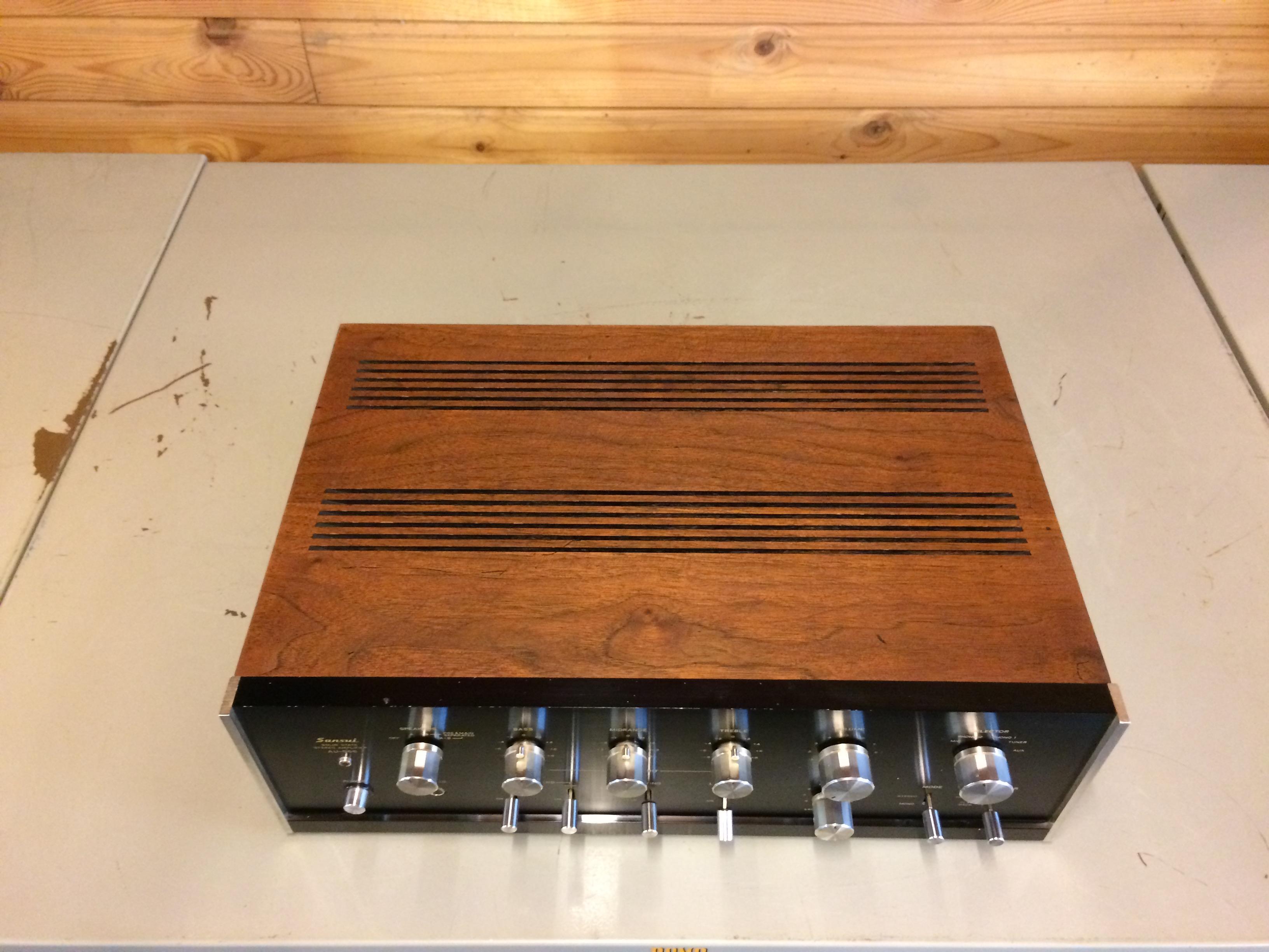 Sansui Au 666 Full Recap Buy Vintage Hifi Nad 3150 Solid State Amplifier