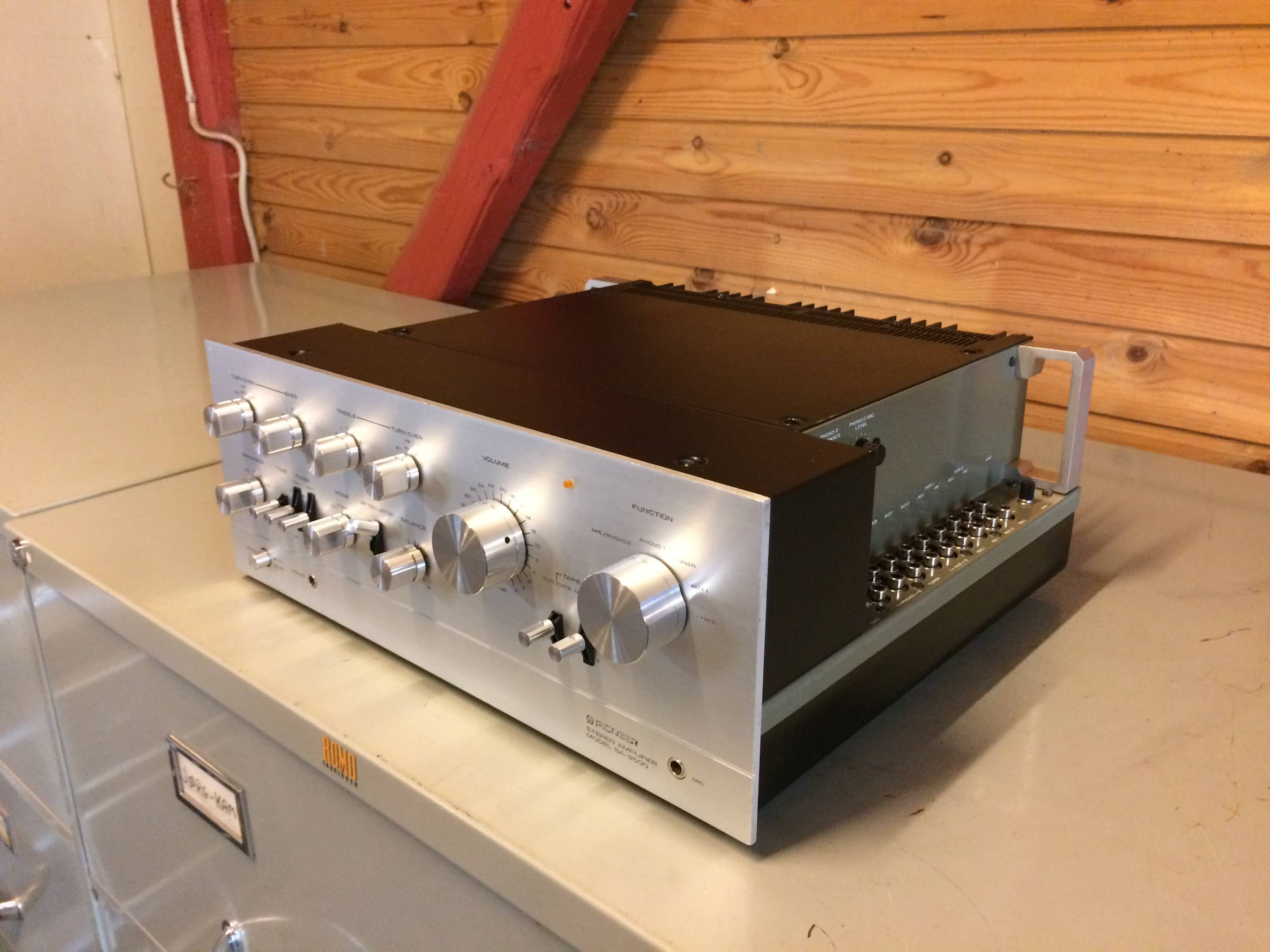 Pioneer SA-9500 - top refurbished vintage amplifier