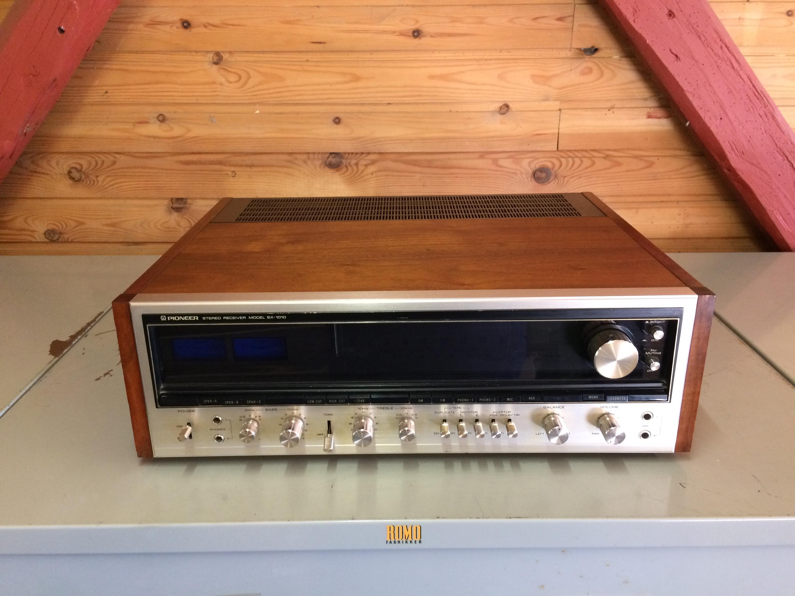 Pioneer SX-1010 – newly refurbished vintage receiver - HiFi
